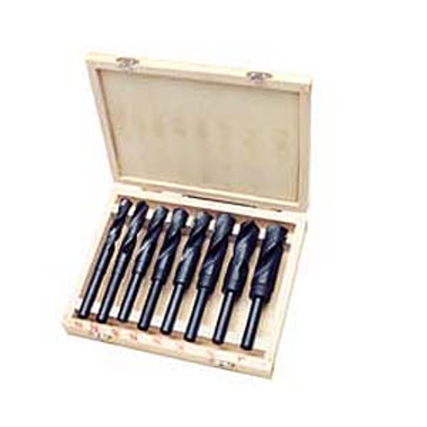 DRILL BIT SET 8PC 1/2IN. SHANK