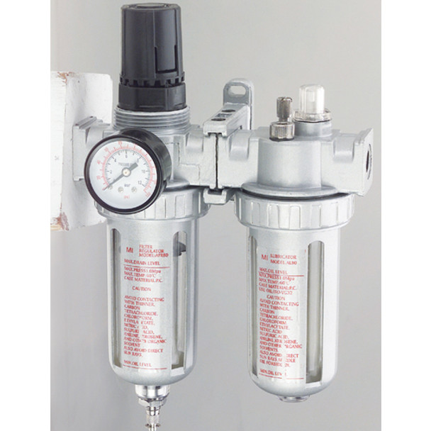 AIR MOISTURE FILTER REGULATOR W/LUBRCTOR