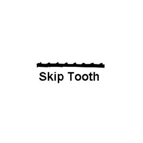 SCROLL SAW BLADE SKIP TOOTH 11.5TPI 12PC