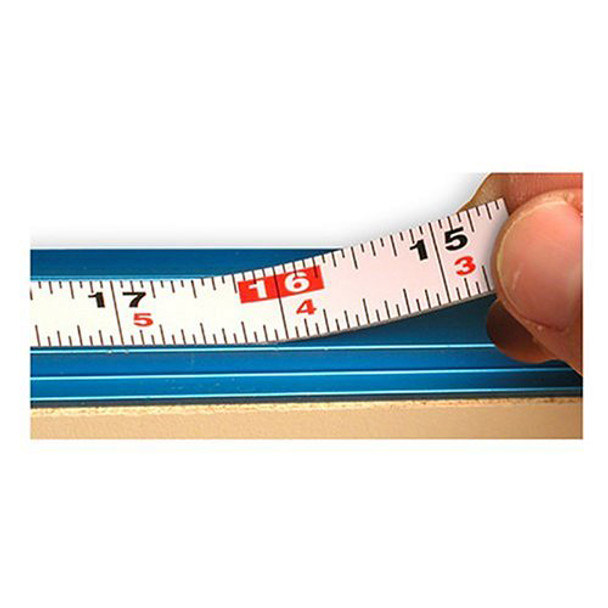 MEASURING TAPE 12FT SELF ADHESIVE R L RDNG