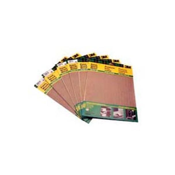 SAND PAPER GARNET 9X11 ASSTED 5PC/PAK 3M