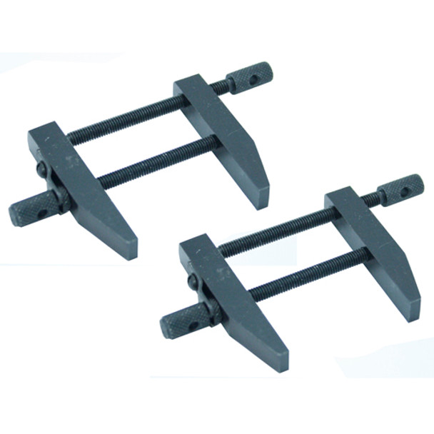 PARALLEL STEEL CLAMPS 2PC SET 2 1/2IN.