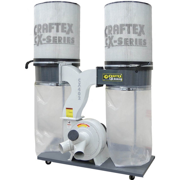 DUST COLLECTOR 3HP W/CANISTERS CSA CX402