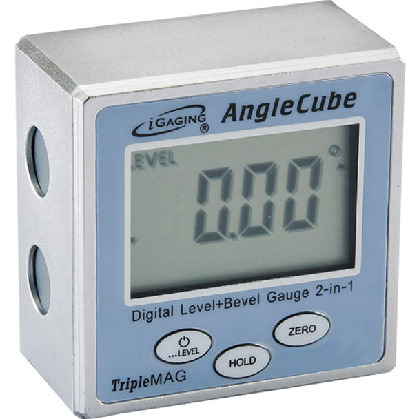DIGITAL LEVEL AND BEVEL GAUGE IGAGING