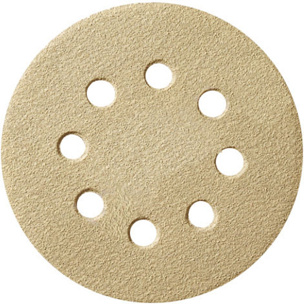 DISC SANDING 100/PK 80G 8H 5IN. H AND L