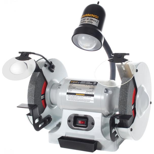 BENCH GRINDER 8IN. W/LIGHT CSA CRAFTEX CX CX906