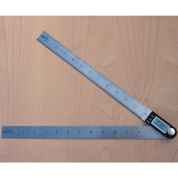 14IN. DIGITAL RULE AND PROTRACTOR IGAGING B312814