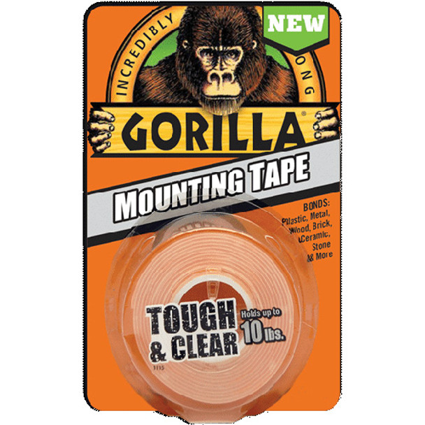 GORILLA MOUNTING TAPE 6PC. BULK