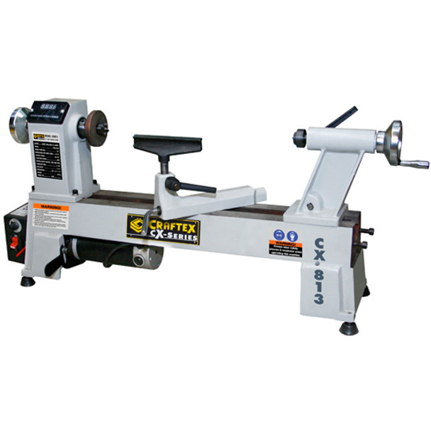 MINI WOOD LATHE W/DIGITAL READ OUT 12IN. X