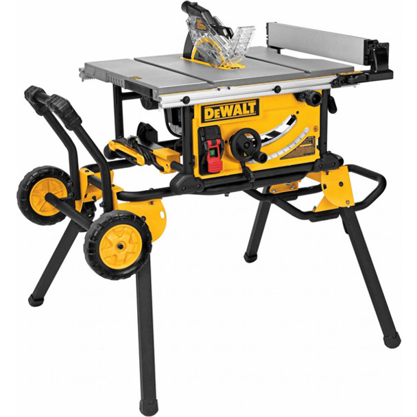 TABLE SAW 10IN. WITH ROLLING STAND