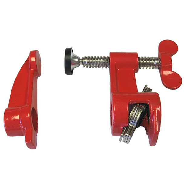 BESSEY 3/4IN. DEEP REACH PIPE CLAMP FIXTURE
