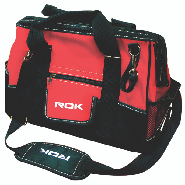 TOOL BAG 16IN RED/BLACK