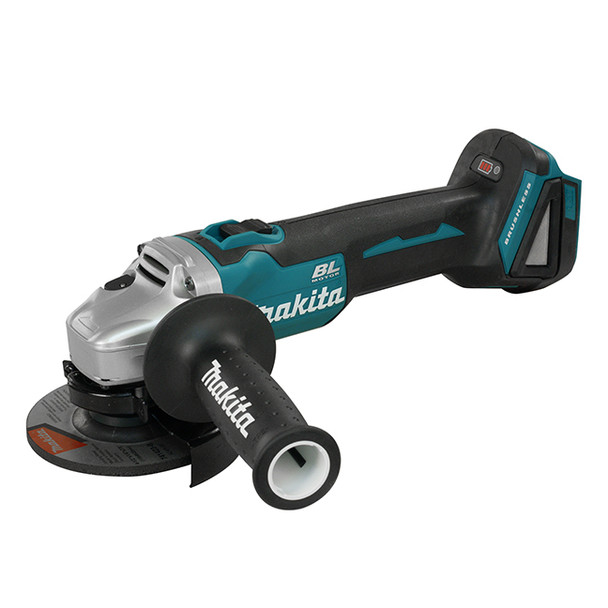 MAKITA 4 1/2IN. CORDLESS ANGLE GRINDER KIT