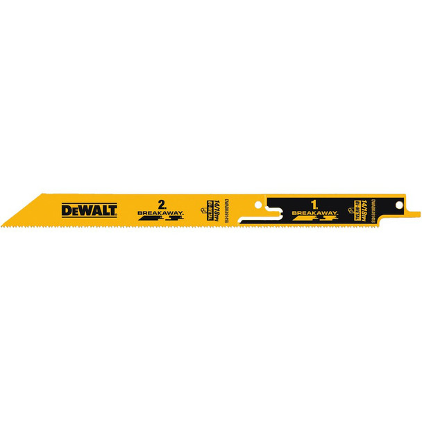 DEWALT BREAKAWAY RECIP SAW BLADES 9IN.