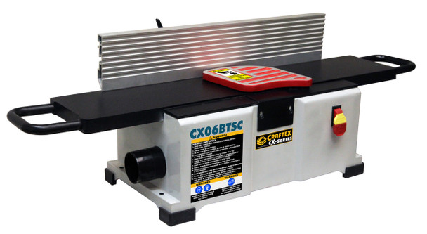 6IN. BENCH TOP JOINTER WITH SPRIAL CUTTER CX06BTSC
