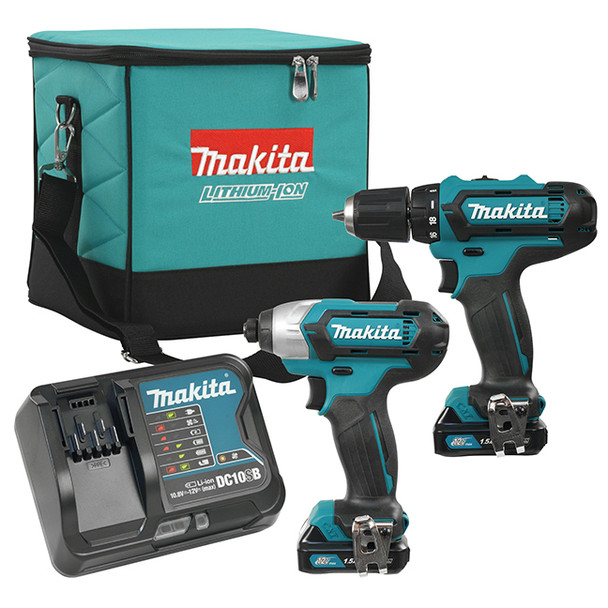 12V DRILL AND IMPACT DRIVER COMBO KIT