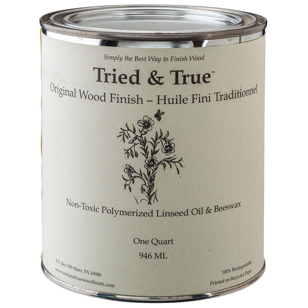 ORIGINAL WOOD FINISH TRIED AND TRUE 32OZ