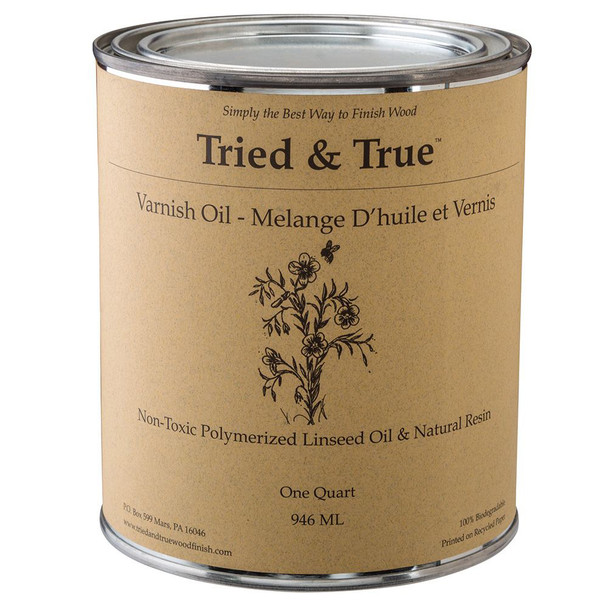 VARNISH OIL TRIED AND TRUE 32OZ