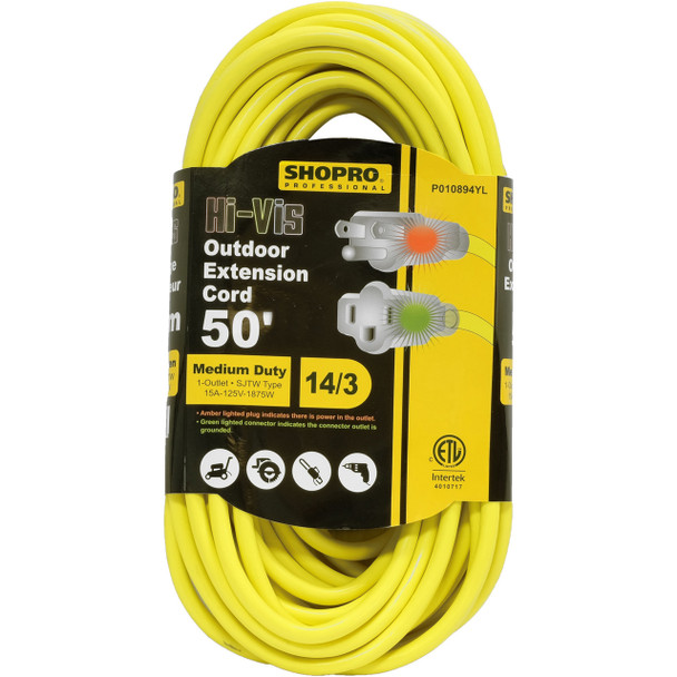 50 OUTDOOR CORD WITH POWER INDICATOR