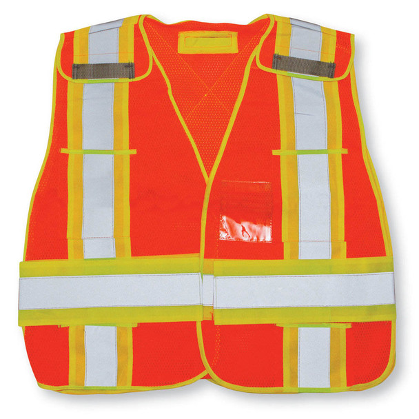 HIGH VIS SAFETY VEST ORANGE