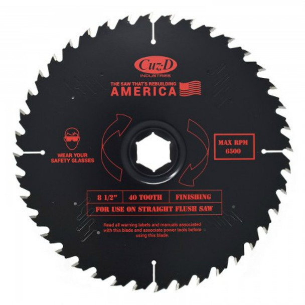 40T PLYWOOD SHEET GOODS BLADE STRAIGHT
