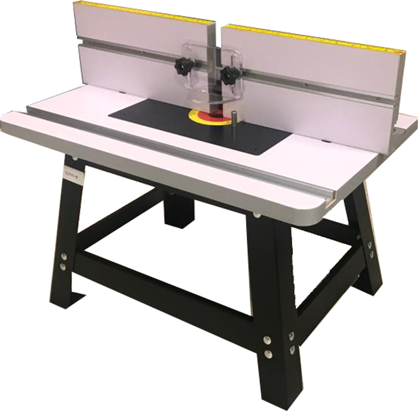 BENCH TOP ROUTER TABLE WITH STAND