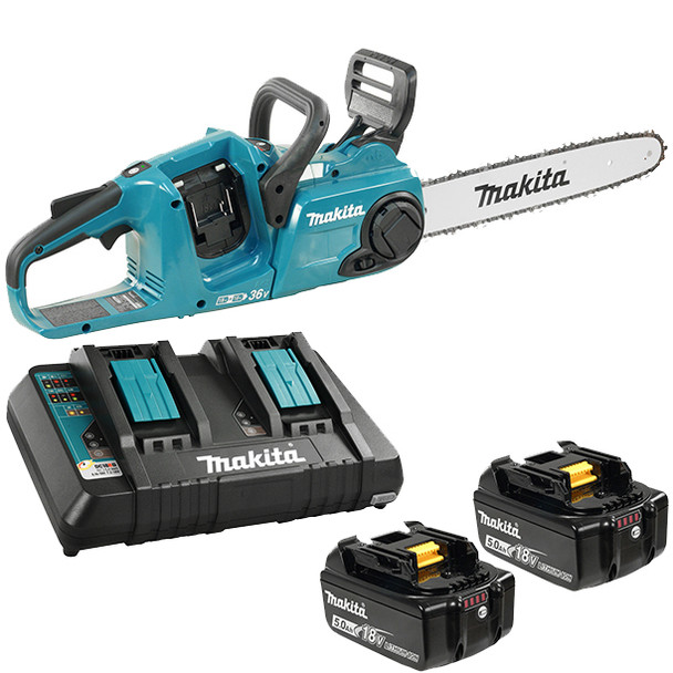 18V LXT CHAINSAW 2 BATTERIES AND CHARGER