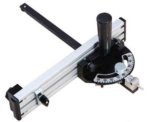 MITER GAUGE WITH EXTENDABLE FENCE