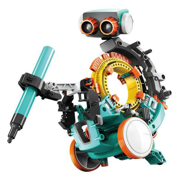 MECHANICAL CODING ROBOT BUILD N PLAY KIT