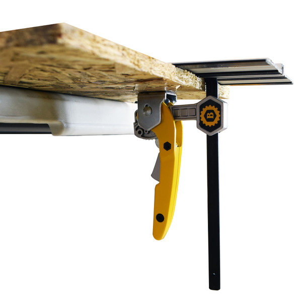 RATCHETING GUIDE RAIL TABLE CLAMP 6IN.