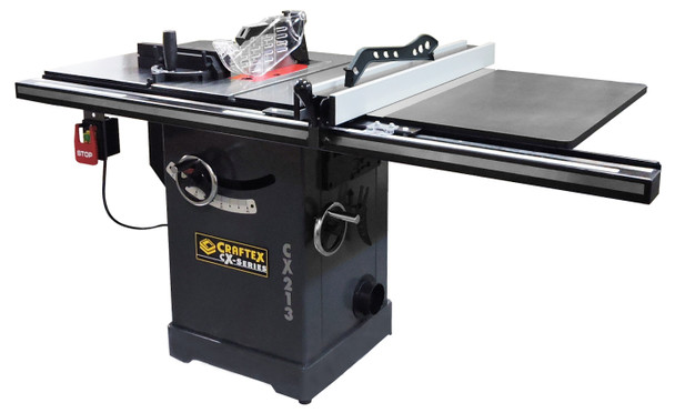 10IN. 3HP INDUSTRIAL CABINET SAW CRAFTEX