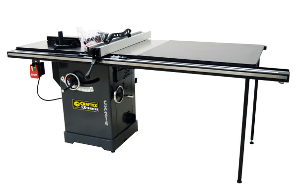 10IN. 3HP INDUSTRIAL CABINET SAW WITH EXTE