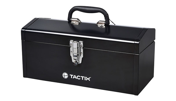 TACTIX STEEL HIP ROOF TOOL BOX 16IN.