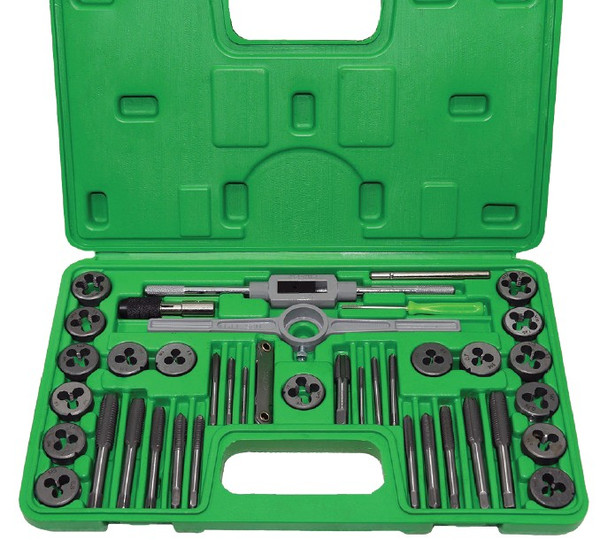 40 PC TAP AND DIE SET SAE