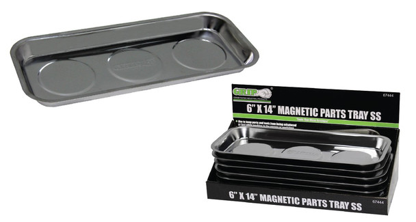 6IN. X14IN. MAGNETIC PARTS TRAY