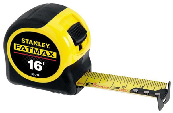 STANLEY FAT MAX 16FT TAPE MEASURE 33716TH