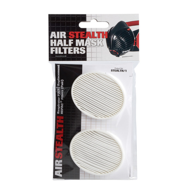 TREND AIR STEALTH NIOSH FILTER 1PAIR
