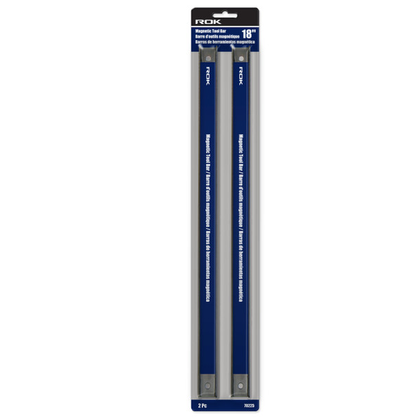18IN. MAGNETIC TOOL BAR 2PC