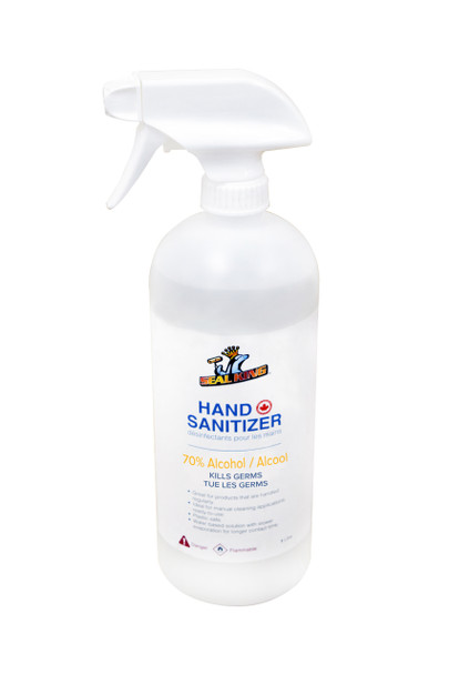 HAND SANITIZER LIQUID SPRAY 1 LITRE 70%