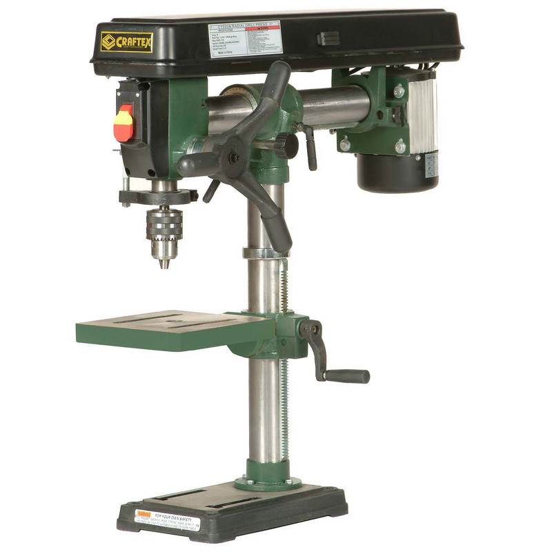 DRILL PRESS RADIAL 1/2HP CSA CRAFTEX CT020N