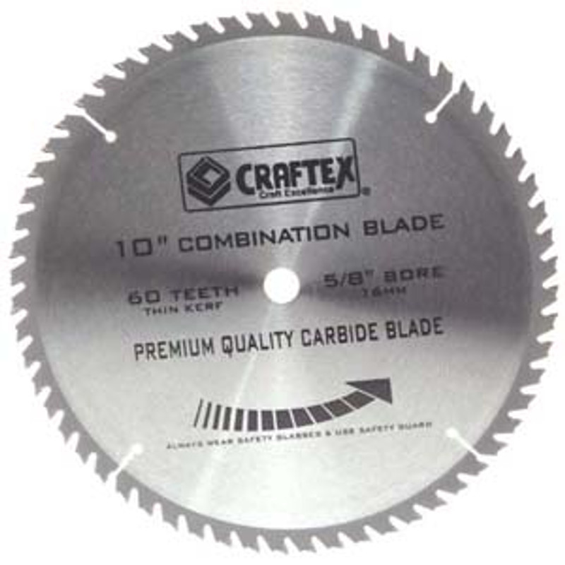 BLADE 10IN. X 60T COMBINATION CRAFTEX