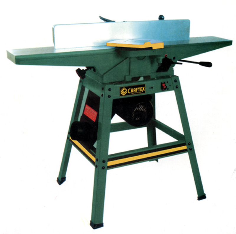 JOINTER 6IN. 1HP W/OPEN STAND CSA CRAFTEX