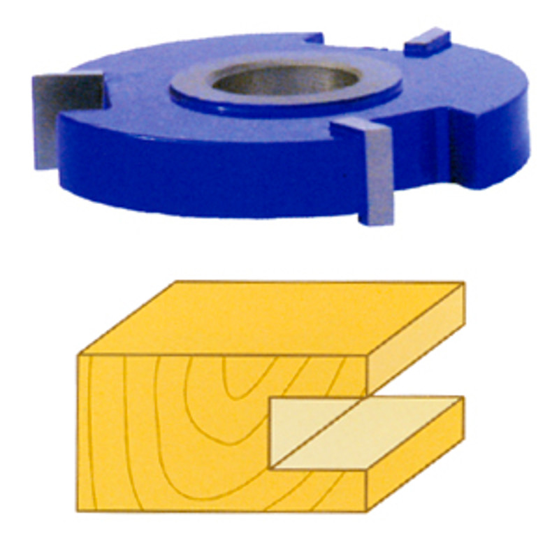 STRAIGHT TOP GROOVE 1/4IN. CUTTER