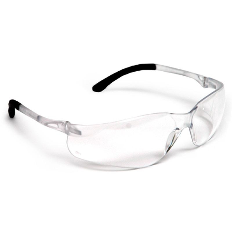 SAFETY GLASSES WRAPAROUND FIT CLEAR LENS