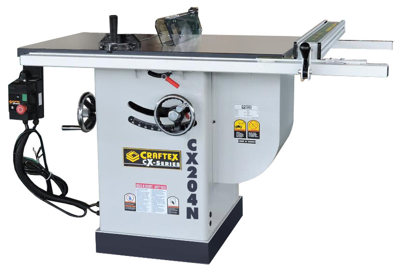 SCORING TABLE SAW 10IN. WITH 30IN. FENCE CX204N