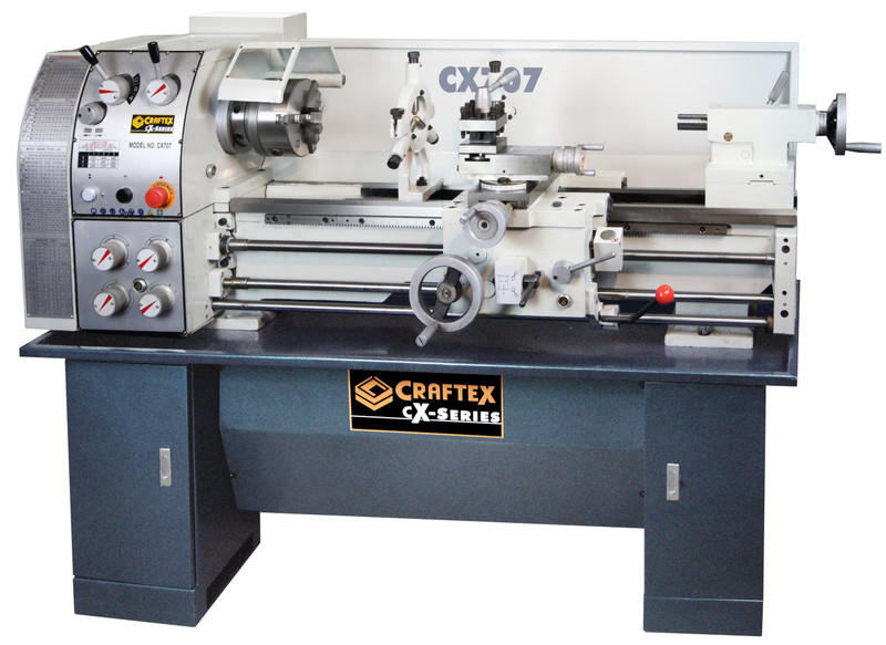 LATHE 12IN. X 36IN. 2HP GEAR HEAD CRAFTEX CX CX707