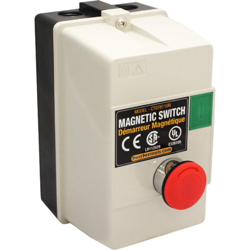 MAGNETIC SWITCH 110V MUSHROOM STYLE 1.5H