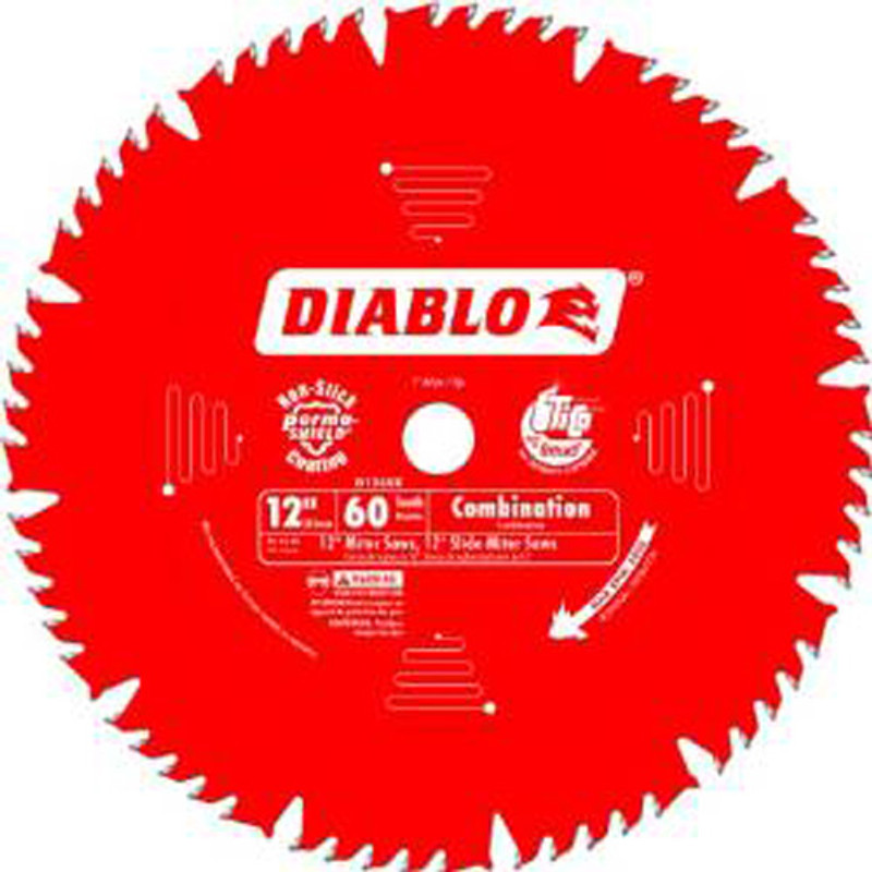 12IN. X 60T COMBINATION BLADE DIABLO