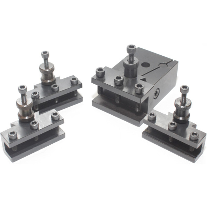 QUICK CHANGE TOOL POST W/4PCHOLDER SMALL