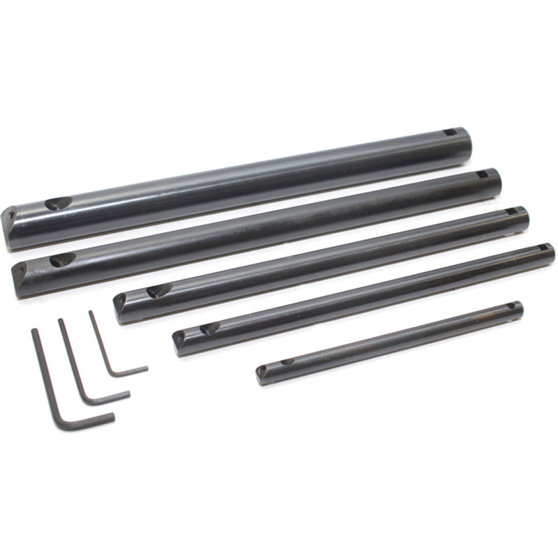 BORING BAR SET5PC 3/8IN. 1/2IN. 5/8IN. 3/4IN. 1IN.